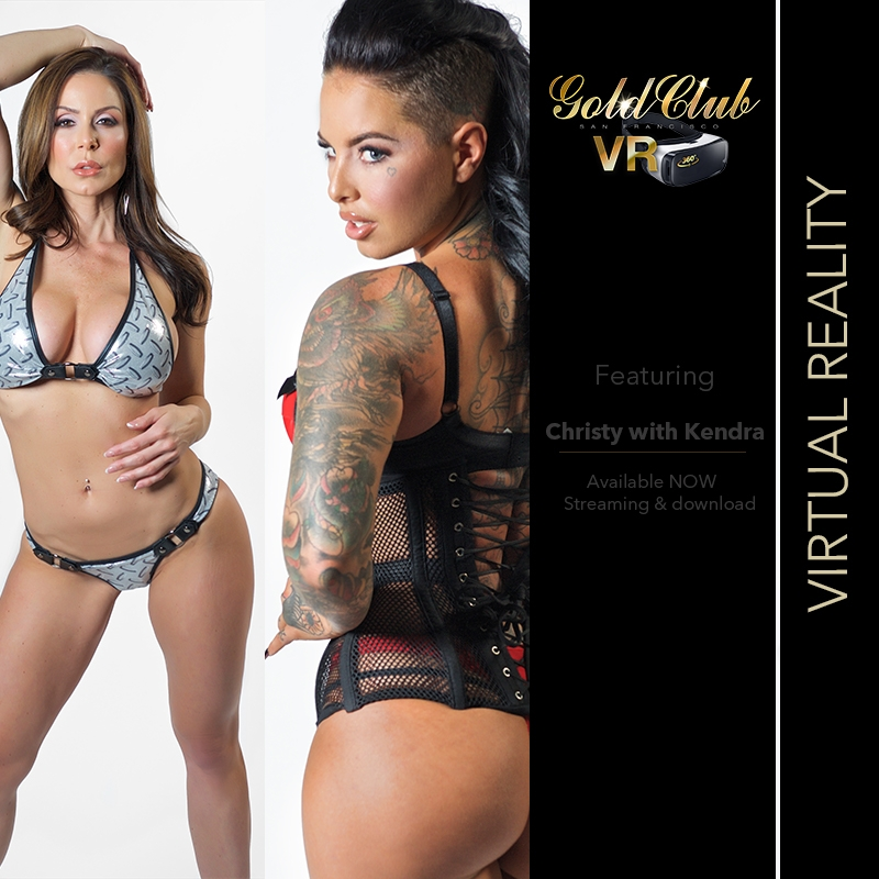 Kendra Lust and Christy Mack Nude Lapdance